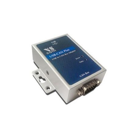 USB till CAN bus omvandlare, isolerad. Anslut CAN bus ytrustning till USB porten