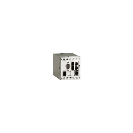 PSTN Industriel Router med 4+1 port switch, RS232, digital I/O. Sandbox, LINUX