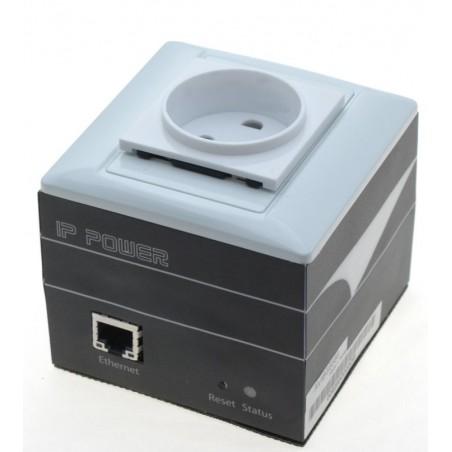"""På och avkoppling av utrustning via nätverket - """"IP ping Watch dog"""" till auto-reset - 230VAC, Schuko kontakt"""
