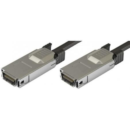 CX4 Infiniband netværkskabel til 10 Gbit, han-han, op til 15m, AWG28, sort, 1,0m
