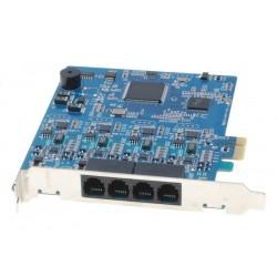 4 x Modem, 56kbps, FAX, PCIE