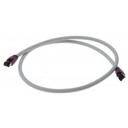 Cat. 8 netværkskabel, RJ45, S/FTP - PiMF, LSZH, 25/40G Base-T, 2000 MHz, grå, 3,0m