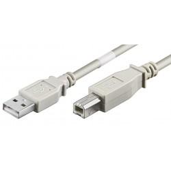 USB 2.0 kabel, A han – B...