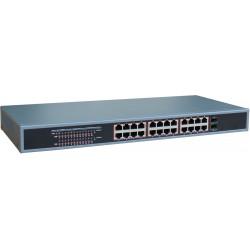 24 portar 10/100 / 1000Mbit...
