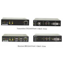 DVI KVM extender över LAN,...