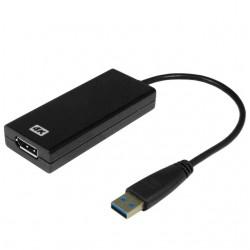 4K USB 3.0 grafikkort för...