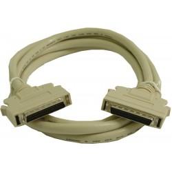SCSI II-kabel, Mini DB50...