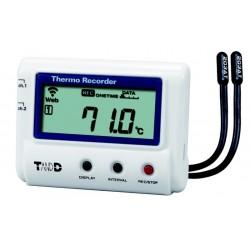 T&D 2 kanals Temperatur...