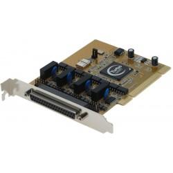 4 RS232 serieportar till PCI