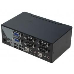 2 ports KVM switch, 2 x...