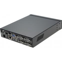 4 ports KVM omskifter, også...