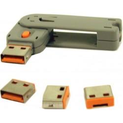 Mekanisk låse-sats till USB...