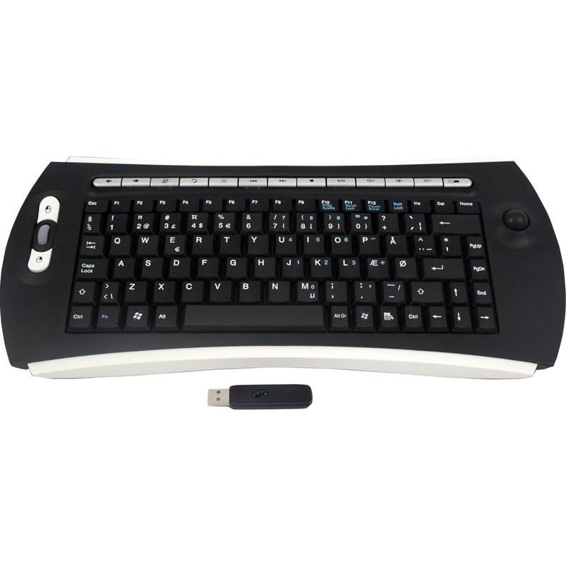 Trådlös Trackball tangentbord - USB - UK teckensät 2bff079dcb417