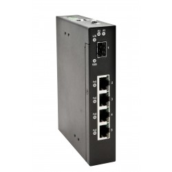 5 ports PoE switch 4 x...