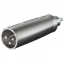 XLR adapter 3-pin XLR jack...