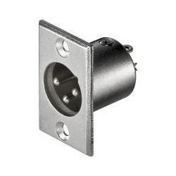 Mikrofonsystillem 3-polig XLR