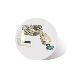 RS485 buss-kabel mellan PLC