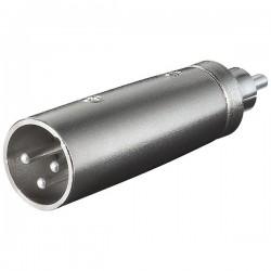XLR adapter 3-polig XLR...