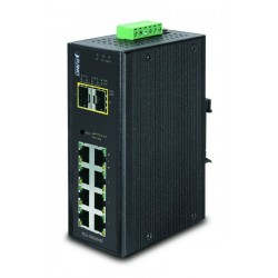 10 portar Gbit switch 8 x...