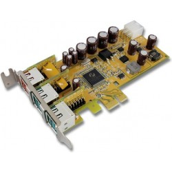Powered USB Low Profile PCI...