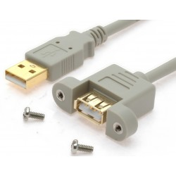 USB 2.0-kablar med...