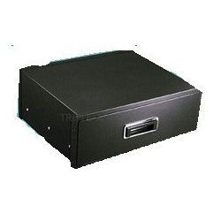 """4U 19"""" dra-ut-låda med lock..."""