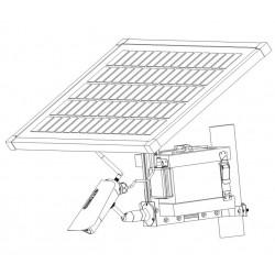 Kamera med 3G och solpanel