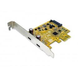 PCI Express kort till USB 3.0C