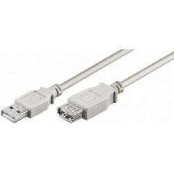 USB 2.0 kabel, A han – A...