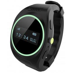 Svart GPS Tracker ur