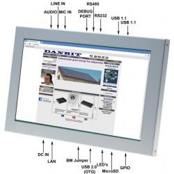 "10,1"" Panel PC m/WIN CE6.0"