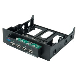 4 port USB hub, intern i...