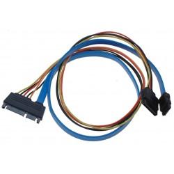 HDD kabel, SATA 22 Pin hane...