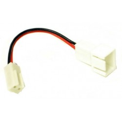 3 pin till 2 pin C fläkt adapter kabel, 5 cm