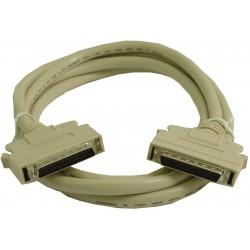 SCSI kabel, Mini DB50 hane...