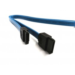 SATA2/ SAS kabel, blåt, 45 cm