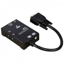 EVA-RCV030, Full HD 1080p CAT5 VGA+Audio Extender Receiver (300M)