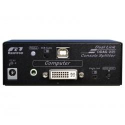 DDAG-221, DVI-DL KVM  Splitter med avanceret EDID funktion