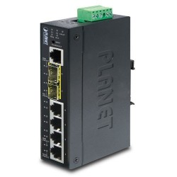 IGS-5225-4T2S, Industrial L2+ 4-Port 10/100/1000T + 2-Port 100/1000X SFP Managed Switch