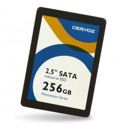 "256GB 2½"" SSD industriel,..."