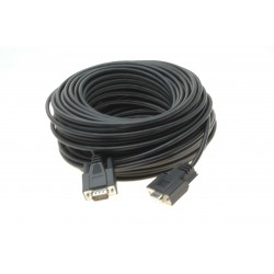 RS232 seriel kabel DB9...
